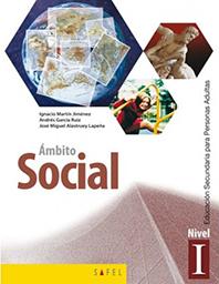 libro educación adultos espa- ámbito social nivel 1